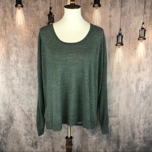 Madewell Southstar Spruce Pullover size XL NWT